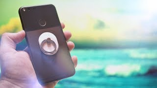 5 PHONE GRIPS FOR YOUR FINGERS!