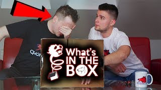 *ŻYWE ROBAKI* WHAT'S IN THE BOX CHALLENGE Z CHORSMENAMI!