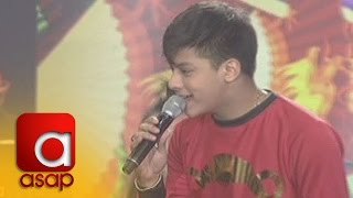 ASAP: Teen King Daniel Padilla sings 'I Feel Good'