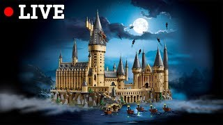 Building LEGO Harry Potter Hogwarts Castle 71043 LIVE from LEGO Leicester Square Store