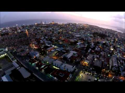 Flying Over Port Of Spain Trinidad with DJI Phantom Drone