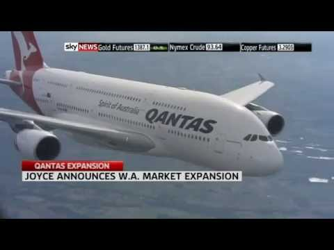 Qantas to lift investment in WA - Alan Joyce