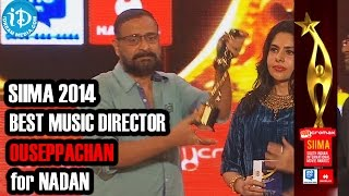 SIIMA 2014 Malayalam Best Music Director | Ouseppachan | for Nadan Movie