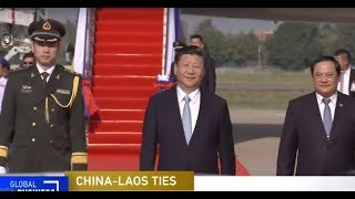 LIVE: President Xi Jinping arrives in Vientiane for state visit to Laos