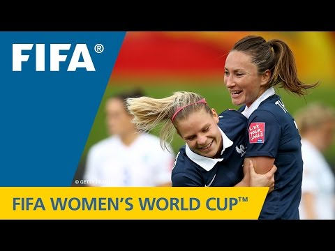 HIGHLIGHTS: France v. England - FIFA Women's World Cup 2015