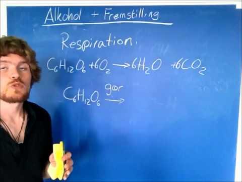 Destillation af alkohol forsøg