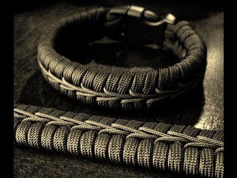 Stitched Paracord Bracelet Stitched Paracord Bracelet