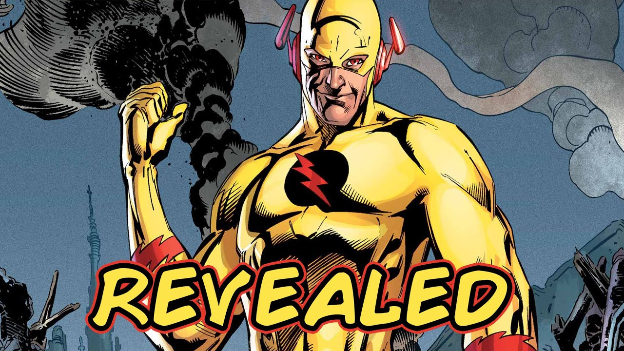 Flash Reverse Flash Revealed Reverse Flash Identity
