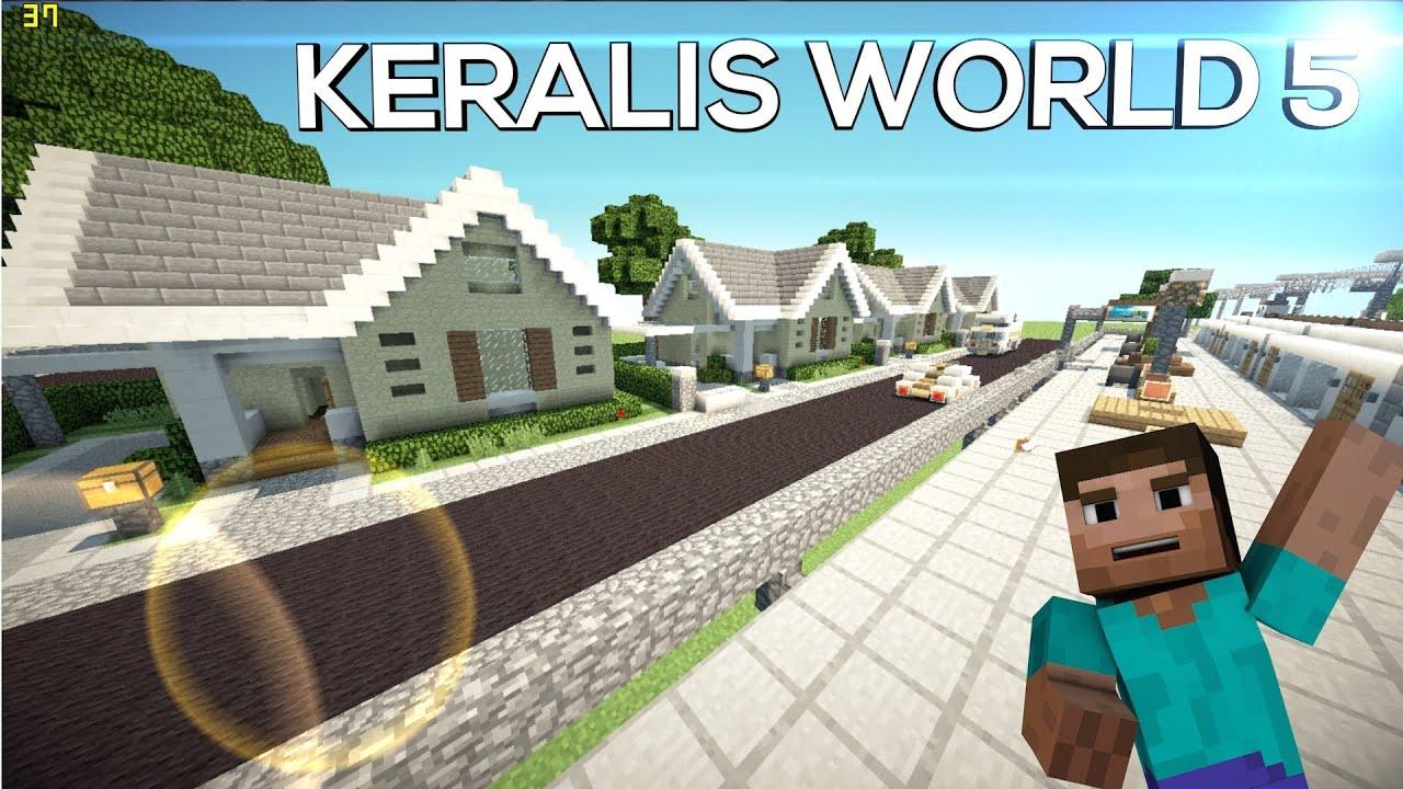 Minecraft pe Keralis Flat