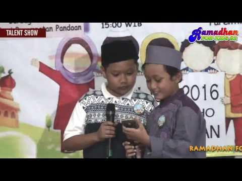 TALENT SHOW  - RAMADHAN FOR KIDS ( RFK#2 )