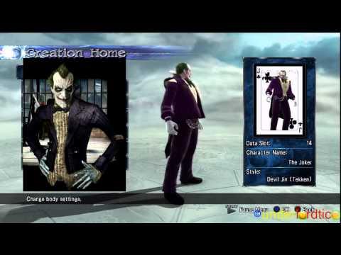 Soul Calibur 5 - BATMAN & JOKER Character Creations
