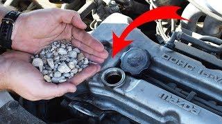 We put STONES in CAR ENGINE