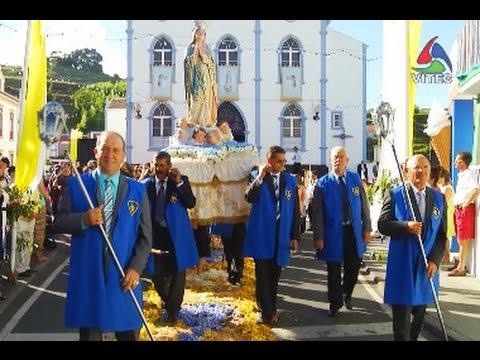 """Prociss�o da """"Senhora das Peras"""" - Festas da Agualva 2014"""