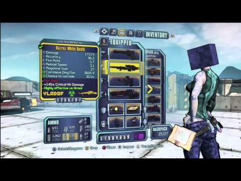 Borderlands 2 - Level 50 Legendary Weapons