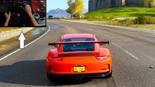 Forza Horizon 4 - Porsche 911 GT3 RS | (w/ Steering Wheel) Gameplay/極限競速:地平線4 T300RS 方向盤遊玩