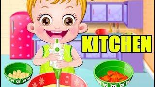 Baby Hazel in Kitchen Game Movie   Fun Cooking Games   Baby Hazel Games
