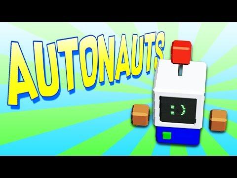 Amazing New Robot Workers Take Over Farm! - Autonauts Gameplay