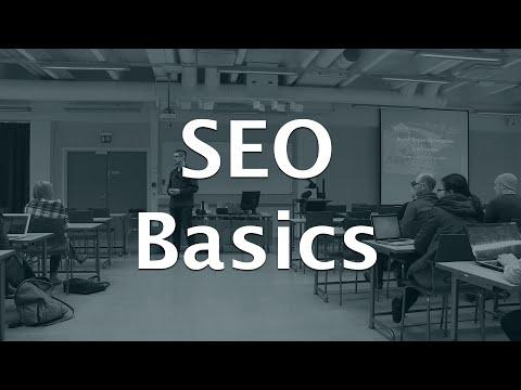 Search Engine Optimization crash course