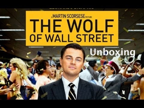 The Wolf of Wall Street - Blu-Ray - Unboxing - German,Deutsch