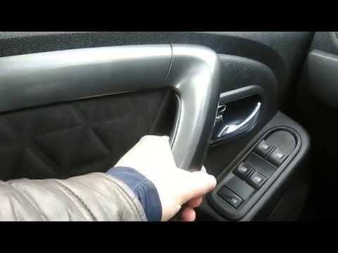 Renault Duster: устраняем хруст и скрип внутренних ручек дверей