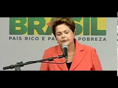 Dilma Rousseff, rebate vaias e xingamentos sofridos na abertura da Copa!