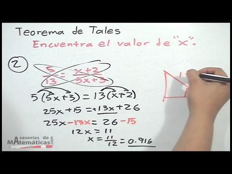 Teorema de Tales - HD