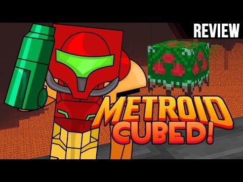 Minecraft PC: Review Metroid Cubed Mod I Traje de Poder Super Rayo I para 1.6.4 I Español