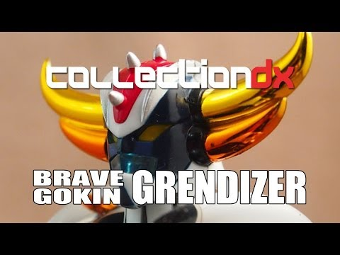 Brave Gokin Ufo Robo Grendizer Toy Review - Collectiondx video
