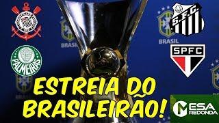 PROGRAMA COMPLETO (28/04/19) - Primeira rodada do Brasileirão + Paredão com Serginho Chulapa