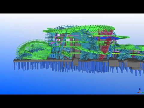 Tekla UK BIM Awards 2012: National Museum of Qatar