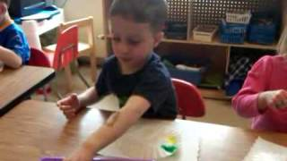 Liam Making A Jellyfish In School-20100325-1352.3gp