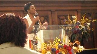 Jessica Reedy Video - Jessica Reedy singing Put It On The Altar