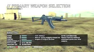 Ghost Recon (GRFS) Weapons || Customization