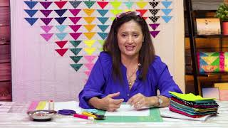 Quilting with foundation paper piecing patterns