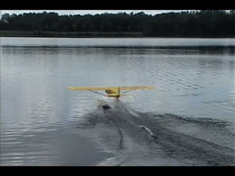 Sig 1/5 Scale J3 Piper Cub Kit on Floats (Electric)