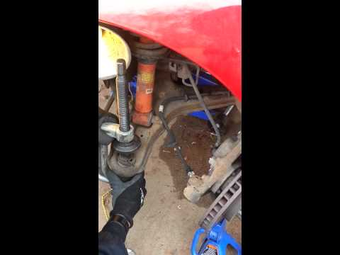 Lower and upper ball joint replacement Part 1
