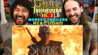 Honest Trailers | GAME OF THRONES Vol. 3 - REACTION!!!