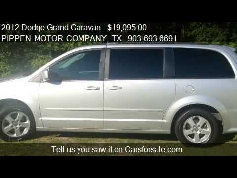 2012 Dodge Grand Caravan SXT for sale in Carthage, TX 75633