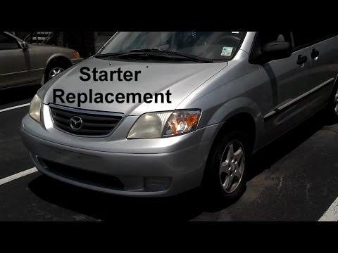 Mazda MPV Starter Replacement - Auto Repair Series