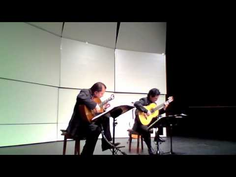 Odeum Guitar Duo - Vivaldi-Bach - BWV 972 - Allegro - May 9, 2011