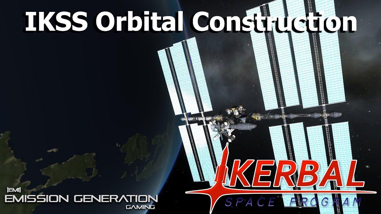 Kosmos space station parts
