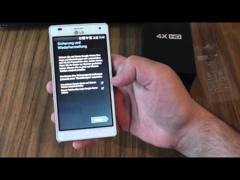 LG P880 Optimus 4X HD - Unpacking / Unboxing. Hands On. Erste Schritte & Erste Eindrücke