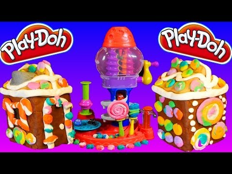 Play Doh Gingerbread House Do It Yourself Play Dough Tutorial with Sweet Shoppe Candy Cyclo