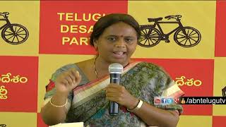 TDP Leader Panchumarthi Anuradha Press Meet Over CS LV Subramanyam Comments On Chandrababu