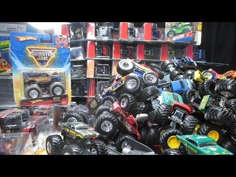 Over 150 Monster Jam Trucks! My 2014 Convention Nationals Pickups video