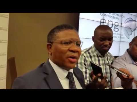 Minister Fikile Mbalula on Rugby World Cup 2023 bid