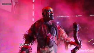 Boogeyman returns to wwe monday night raw 2012/12/17 HD