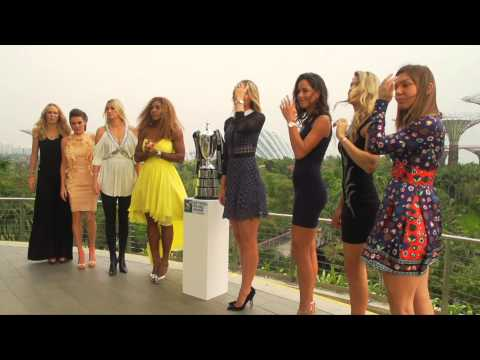 Ana Ivanovic, Maria Sharapova und Co. im Abendkleid | WTA-Finals in Singapur | Tennis