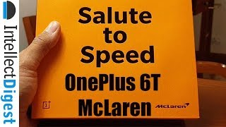 OnePlus 6T McLaren Edition India Unboxing