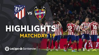 Highlights Atletico Madrid vs Levante UD (2-1)
